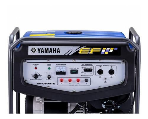 grupo electrógeno  yamaha - ef13500te palermo bikes