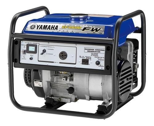 grupo electrógeno  yamaha ef2600fw palermo bikes