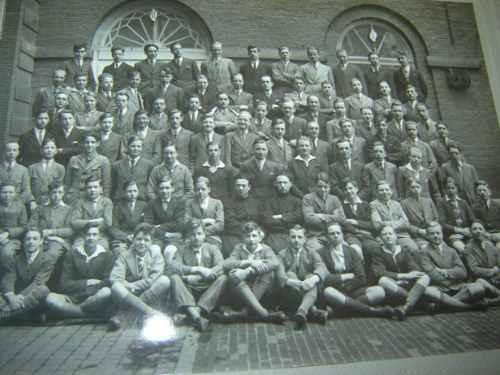 grupo escolar 1930 fotografia antigua belgica europa francia