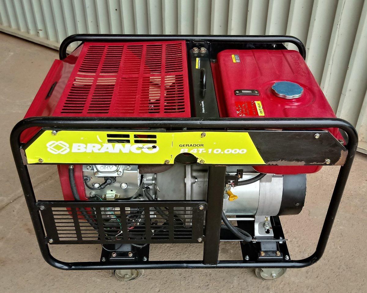 270a179a0c3 Grupo Gerador De Energia 10 Kva 110 220 V Monof. Motor 20 Cv - R ...