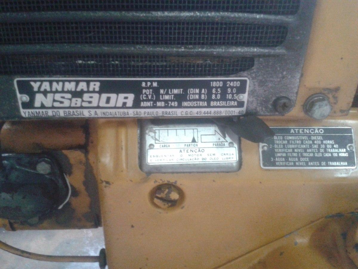 cffab0f4c50 grupo gerador diesel yanmar nsb 90r   bambozzi 110   220 v. Carregando zoom.