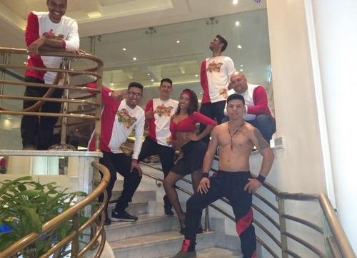 grupo guarura samba show, tambor, tequileros, strippers