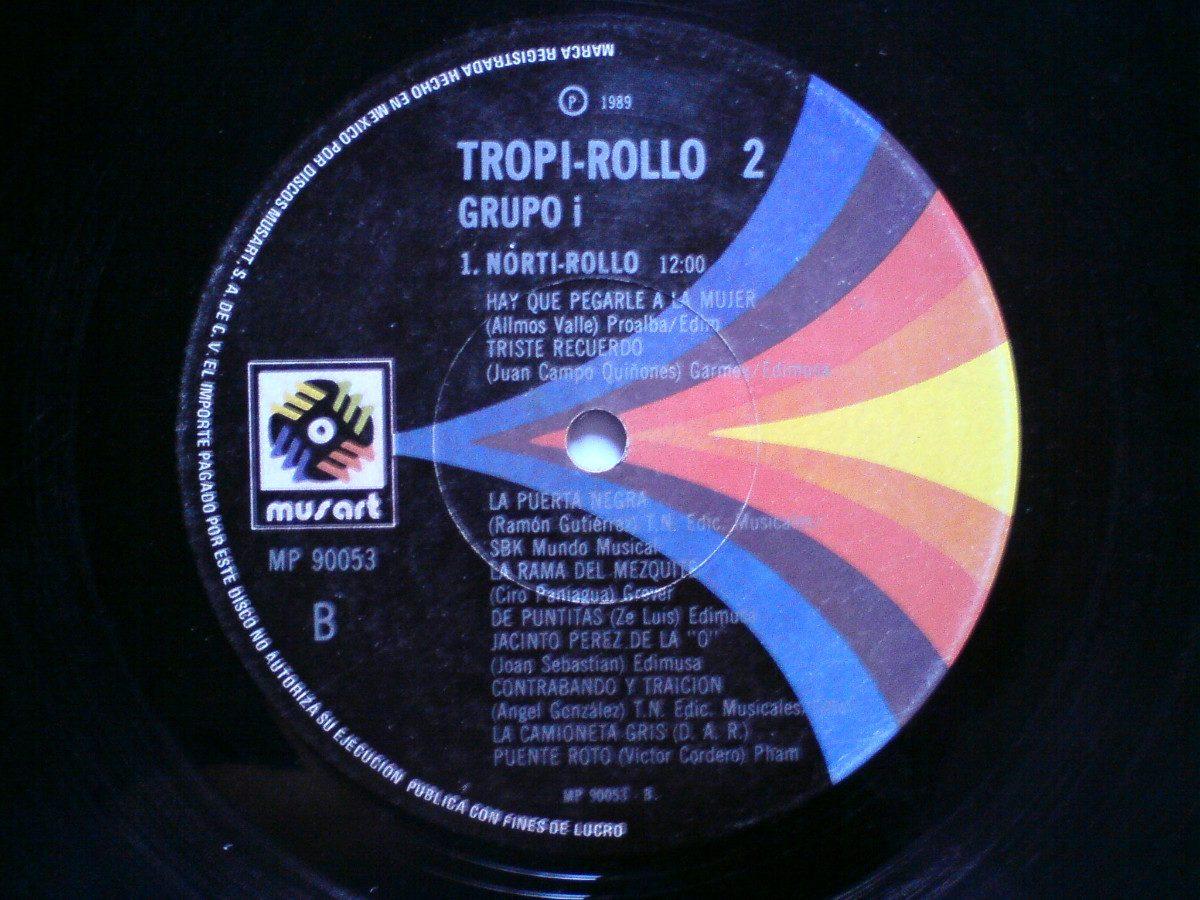Grupo I Tropi Rollo Vol  2 Lp Megamix (bronco, Mier) Dj 80's