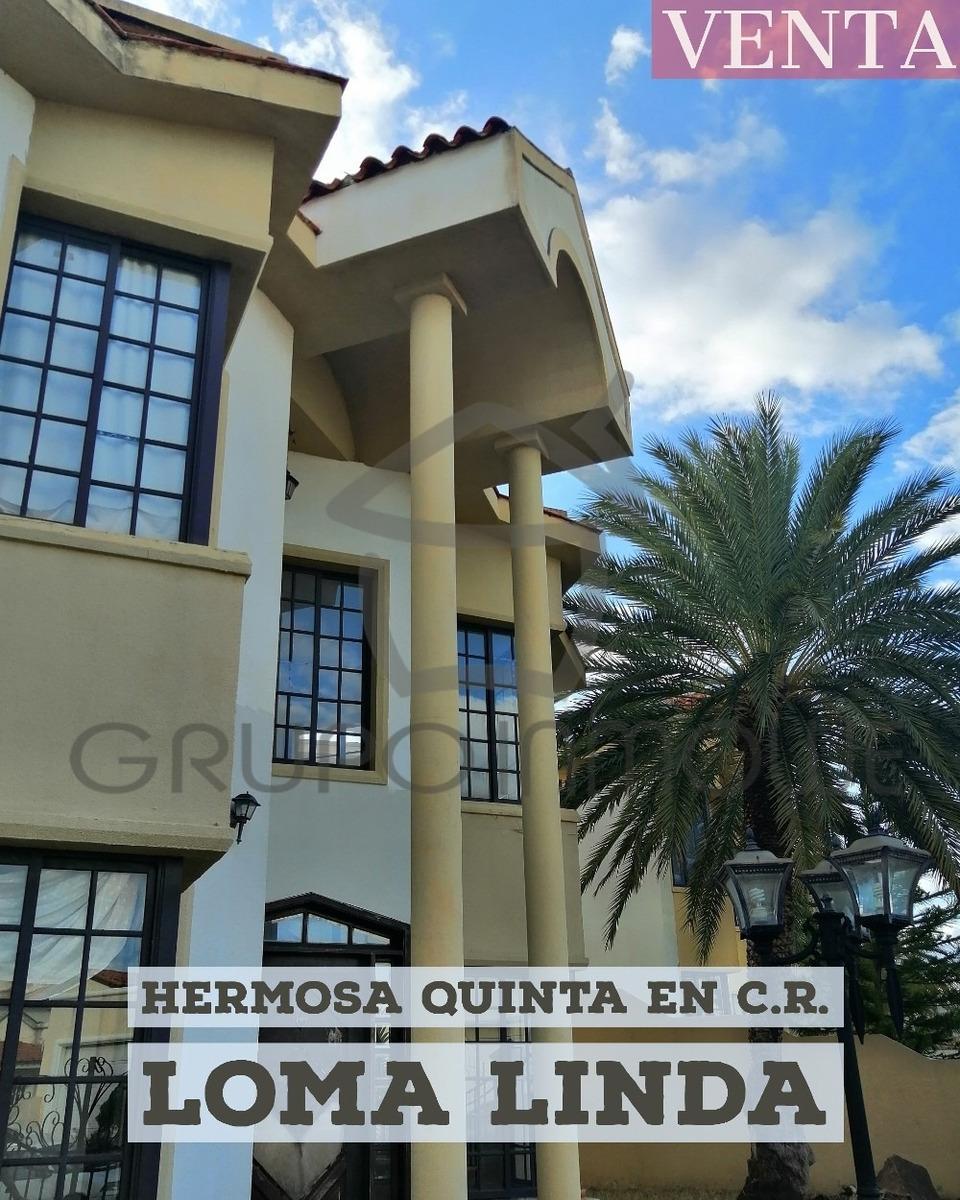 grupo inmowe vende casa quinta en loma linda, puerto ordaz