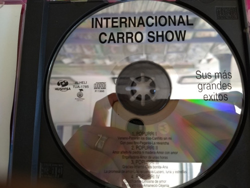 grupo internacional carro show cd sus mas grandes exitos