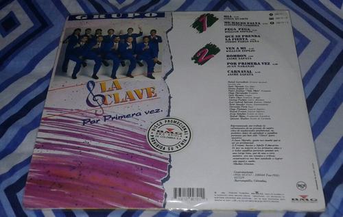grupo la clave por primera vez/ mia/ salsa lp rca 1994