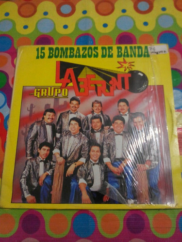 grupo laberinto lp 15 bombazos de banda 1990
