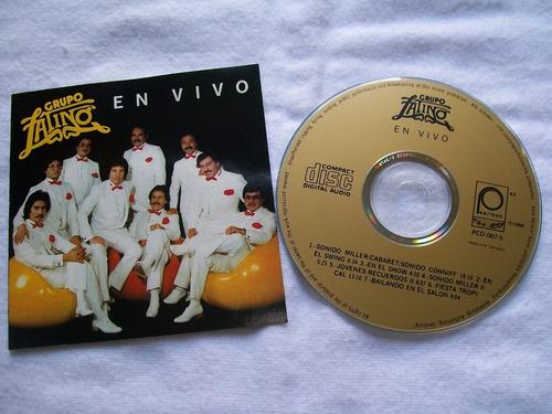 grupo latino en vivo. cd ed. 1988