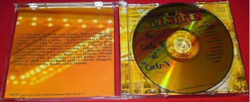 grupo limite de corazon al corazon cd 1a ed 1996  bvf