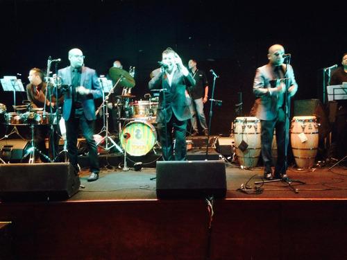 grupo musical bailable sonido, banda, orquesta, presley