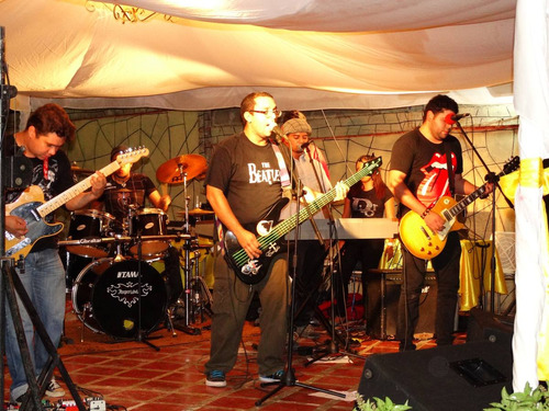 grupo musical eventos banda retro rock and roll