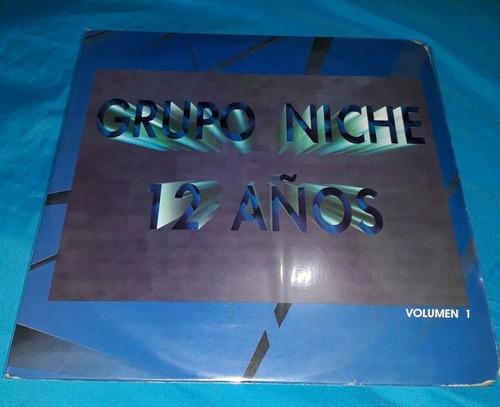 grupo niche 12 años vol1/ lp promocional sony 1993 colombia