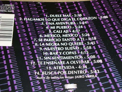 grupo niche the best 1994 epic cd salsa cumbia