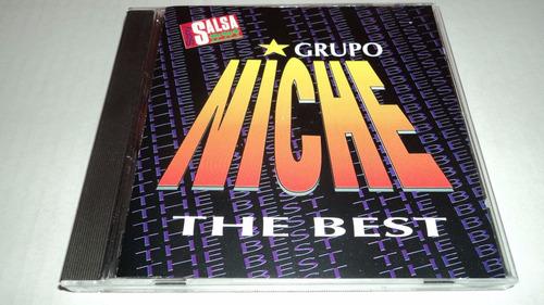 grupo niche the best - sony salsa cd de coleccion