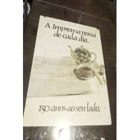 Grupo Nsc - Rbs Cartaz Antigo Jornal Diario Catarinense