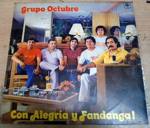 grupo octubre con alegria y fandanga lp argentino