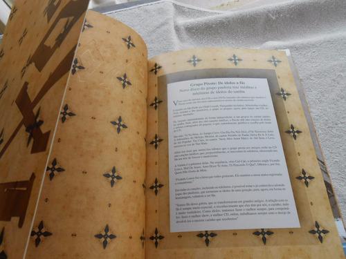 grupo pixote de ídolos a fãs livro com as músicas do album