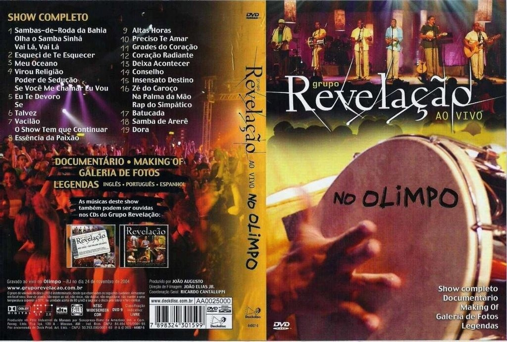 cd revelao ao vivo no olimpo gratis