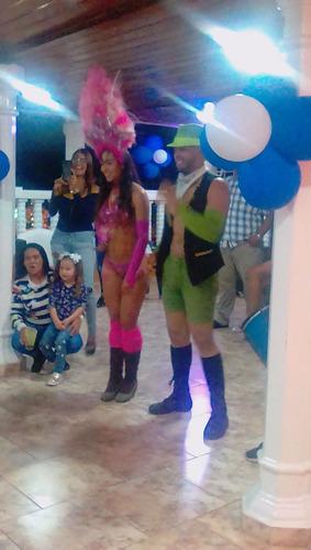 grupo samba galaxy show con garotas y garotos caracas
