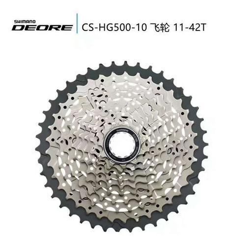 grupo shimano deore 2x10 20v m6000 11-42 i-spec ii c/ freio