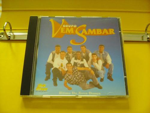 grupo vem sambar - rítmo da nova dança - cd excelente