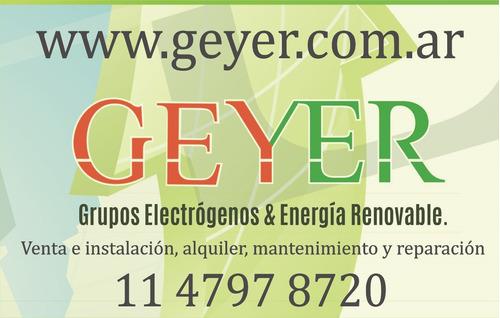 grupos electrógenos mantenimiento reparación  instalación