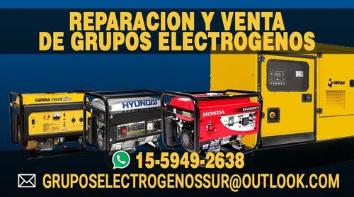 grupos electrógenos -venta - reparación service -