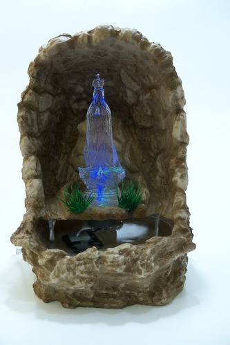 gruta água n. senhora fátima  resina cascata promoção