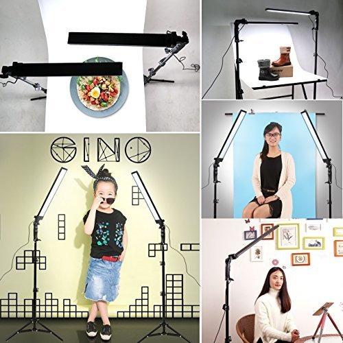 gskaiwen 180 led luz estudio fotografia kit