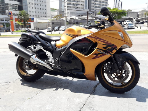 gsx 1300 r hayabusa  2011 dourada  toda original