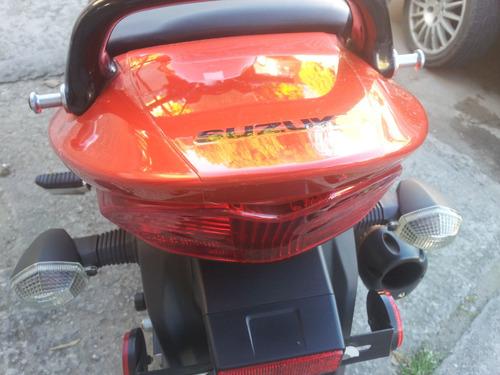 gsx650f 2009 original. solo 9.100 km reales, unica , permuta