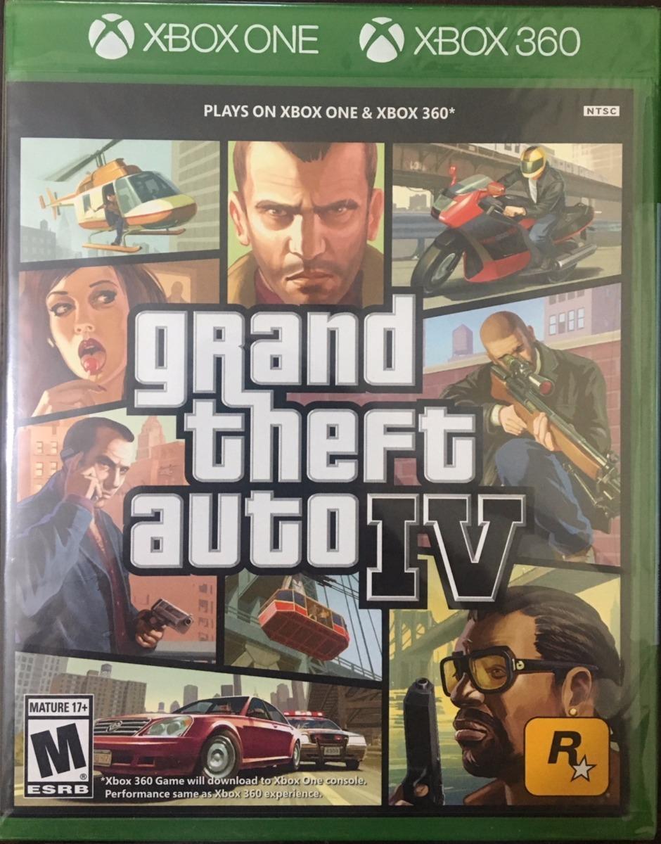 Gta 5 Xbox One : Gta xbox one mídia física grand theft auto iv