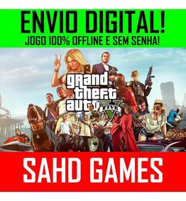 Gta 5 Grand Theft Auto V 5 Pc + Mod Menu +1 Jogo