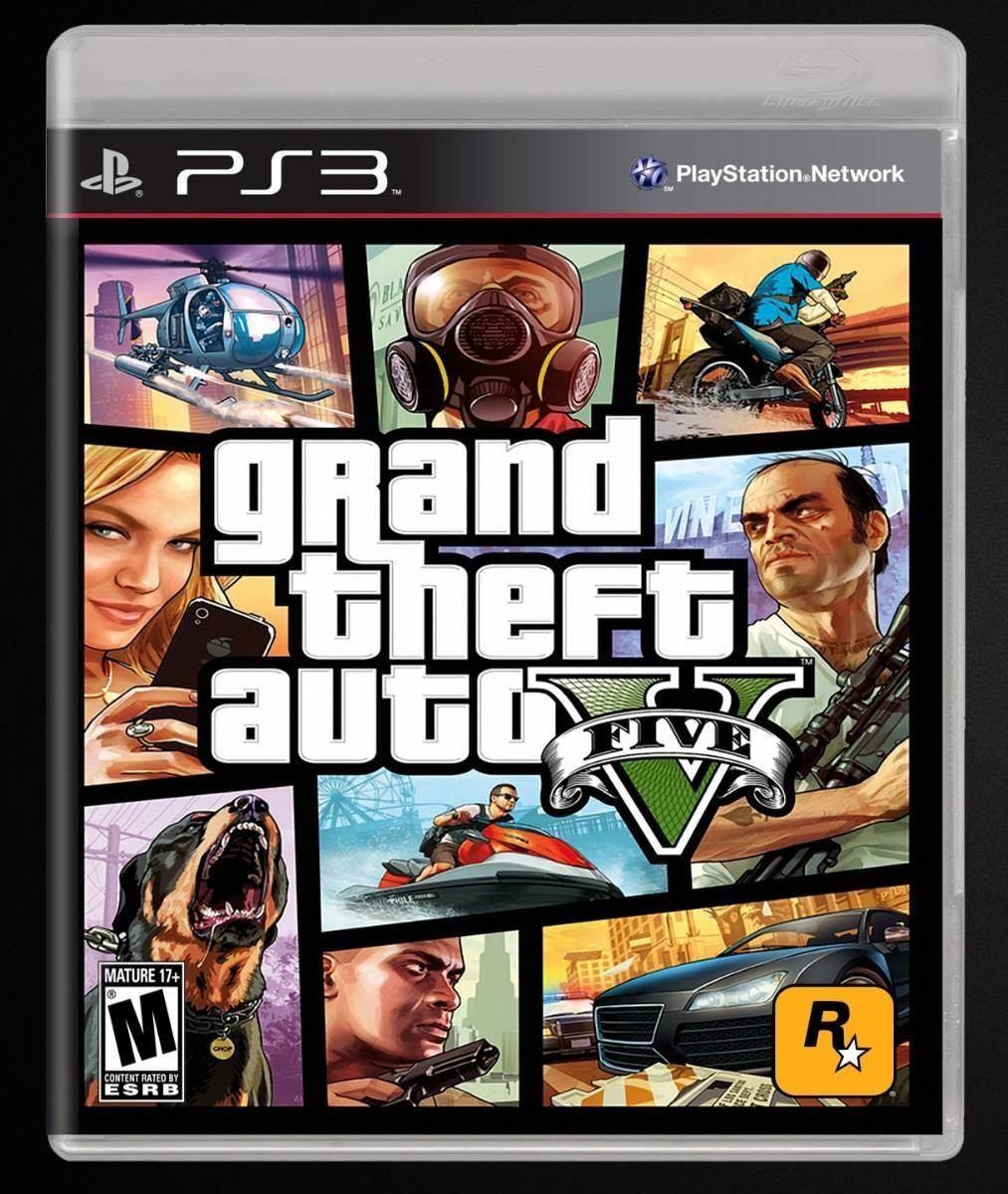 Gta 5 Grand Theft Auto V Juego Ps3 114 95 En Mercado Libre