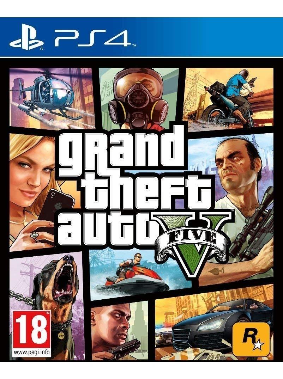 Gta 5 Grand Theft Auto V Ps4 Playstation Digital 2 50 Off