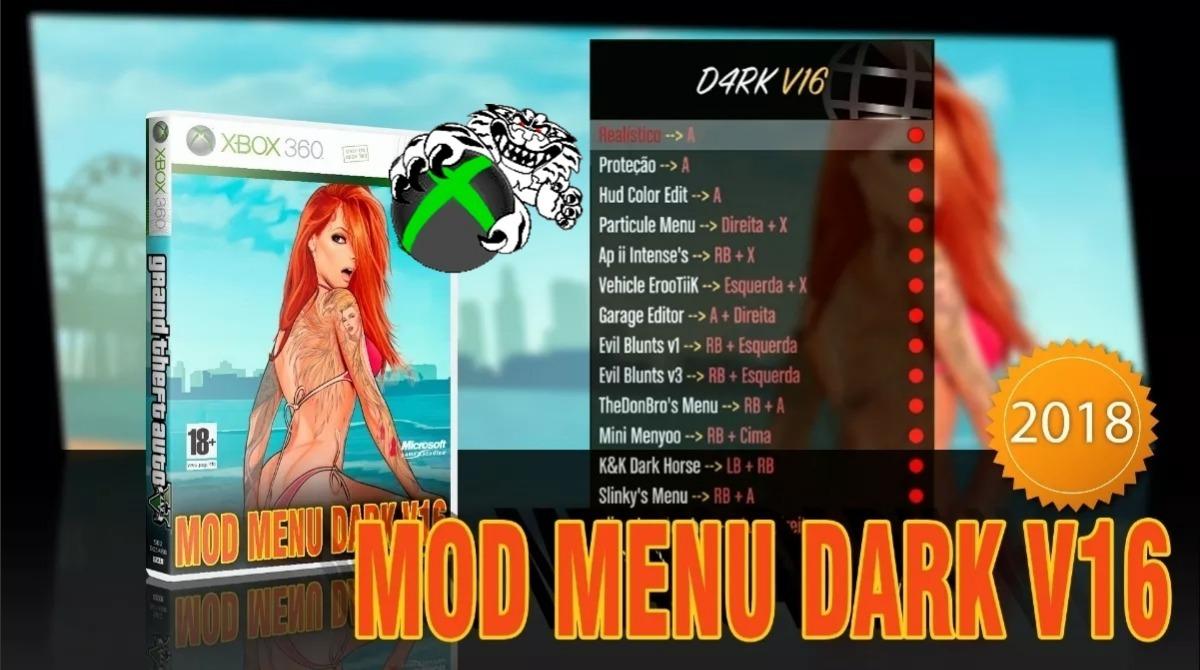 Gta 5 Mod Menu Dark V16 + Mod Oculto 2018 Xbox 360