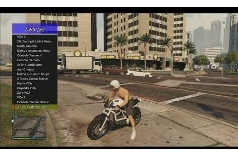 Gta 5 Mod Menu Dark V20 2019 Lançamento Xbox 360