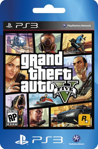 gta 5 ps3 grand theft auto 5 ps3 original completo oferta ya