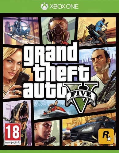 gta 5 xbox one fisico sellado raul games