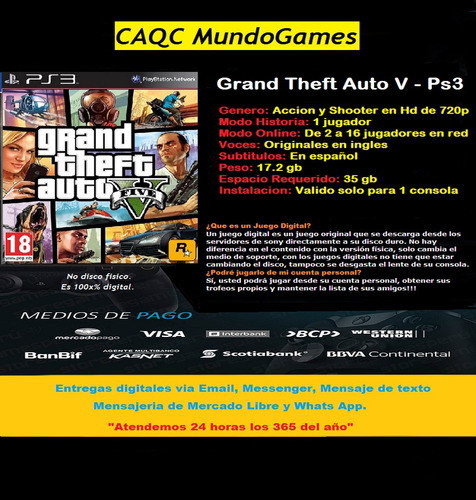 gta grand theft auto ps3