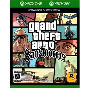 Gta Grand Theft Auto San Andreas Xbox One Nuevo Original
