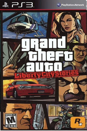 gta liberty city stories psn ps3 envio imediato