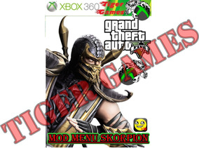 Gta Mod Menu Skorpion 6 In 1 Lançamento 2019 Xbox 360