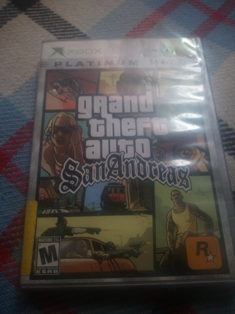 Gta San Andreas Juego De Xbox Clasico 550 00 En Mercado Libre