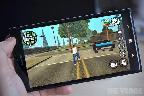 gta san andreas para celular android versión 2.0