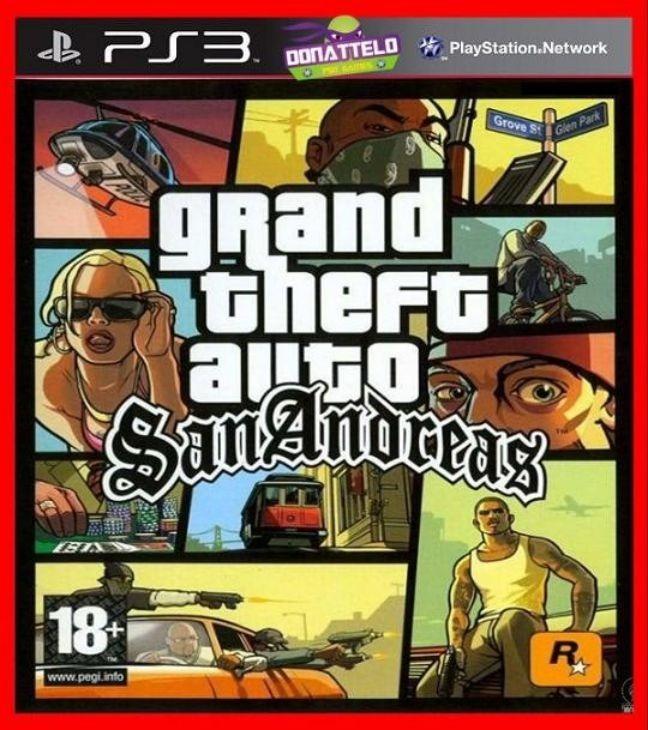 Gta San Andreas Ps3 Psn Aventura Play 3 Digital