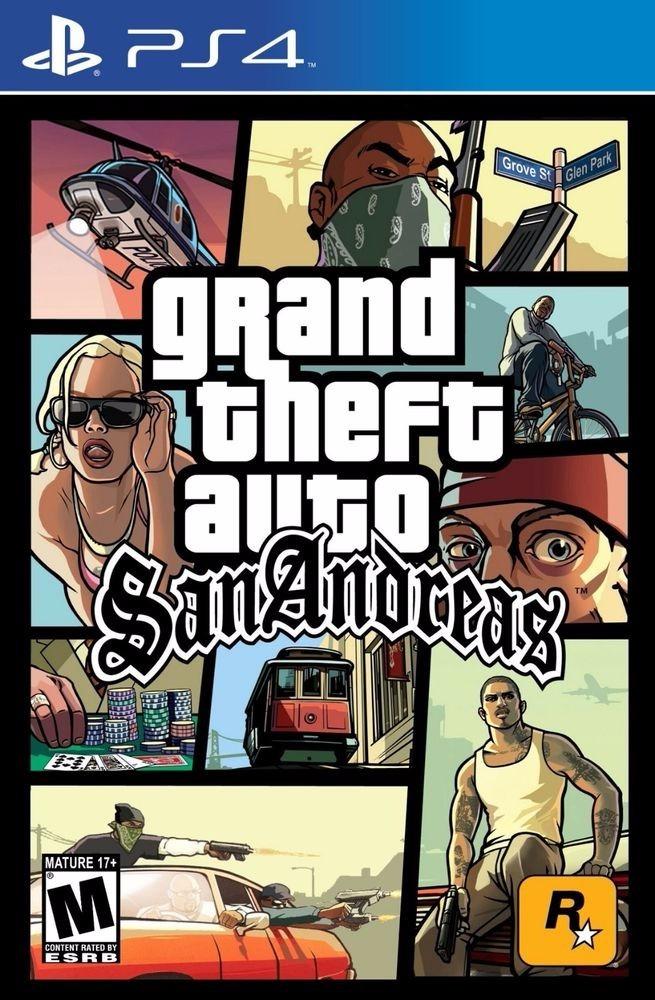 Gta San Andreas Ps4
