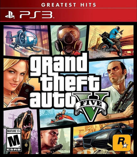 gta v grand theft auto 5 ps3 juego fisico sellado sevengamer