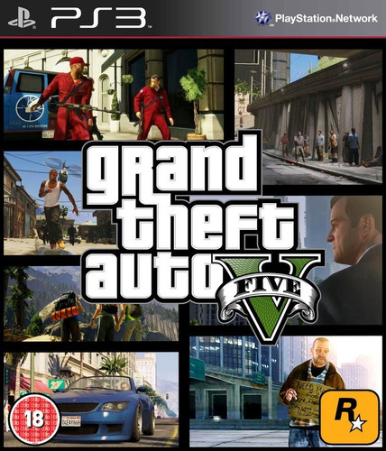 gta v - grand theft auto v / digital para ps3