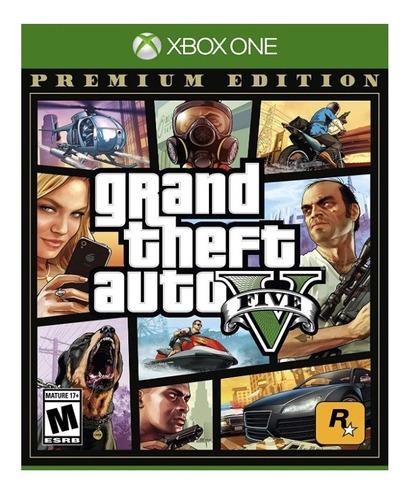 gta v grand theft auto v xbox one premium edition !!!